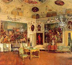 Painter Walter Gay also did an Interior of Palazzo Barbaro, Venice...)