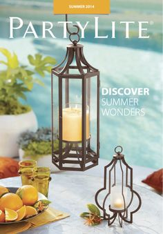 "Create Your ""Outdoor Dining Room"" With Candlelight This Summer -- Partylite Magazine article Lanterns Decor, Hanging Lanterns, Candle Lanterns, Candle Sconces, Candels, Jar Candle, Candle Accessories, Outdoor Dining, Outdoor Spaces"