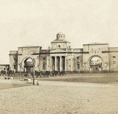 1850. Portal del Mar de Barcelona