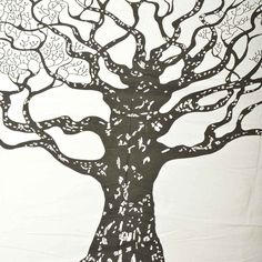 Wall Art – Tree of Life Tapestry ,The Boho  84 x 90 inches – a unique product by IndianCraftPalace on DaWanda