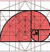 Golden ratio and sacred geometry dimensional space