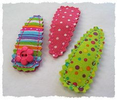 Fabric clips