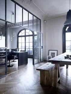 White PUNCH: Internal Steel Windows