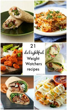 2 Delicious Weight Watcher's Recipes - get healthier with these recipes. Easy and amazing recipes with low Weight Watcher's points.