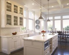 Best Pendant Lights Over Kitchen Islands Images On Pinterest - Kitchens with pendant lights over island