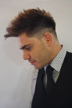 SP Men Competition entry from GREECE, Salon STELIOS KAROYSOS. Look: Modern Sophistication.
