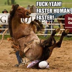 faster human, faster..