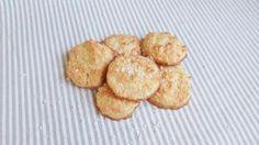 Receta de Galletas de clara de huevo y coco