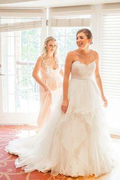 hayley paige kira size 4 used wedding dress - Nearly Newlywed