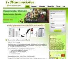 Hier ein Hausmeister Portal sehr extrem günstig unter Investitionspreis abzugeben  http://www.1-hausmeister.de/