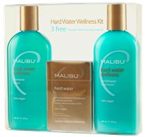 Malibu C Hard Water Wellness Kit- might need to try this since our well water is destroying my hair!