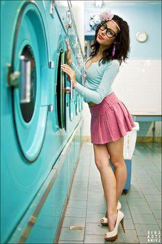 .:Girl Next Door:. by MissLaurelle.deviantart.com on @deviantART   Smelly Laundry?   Washer Odor?   http://WasherFan.com   Permanently Eliminate or Prevent Washer & Laundry Odor with Washer Fan™ Breeze™   #Laundry #WasherOdor #SWS