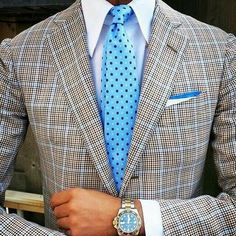 How to Wear a Plaid Blazer For Men looks & outfits) Dress Shirt And Tie, Suit And Tie, Blazer Dress, Swag Dress, Dress Shoes, Gentleman Mode, Gentleman Style, Sharp Dressed Man, Well Dressed Men