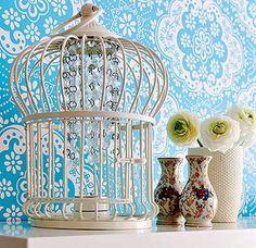 Una jaula reciclada con mucho estilo