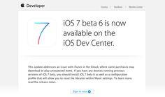 Todas las novedades de la beta 6 de iOS 7