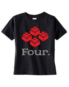Toddler 4th Birthday Shirt SOFT  Four Year Old Building