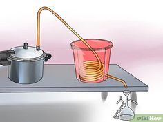 Image titled Make Essential Oils Step 8 Image titled Make Essential Oils Step 8 . Essential Oil Still, Making Essential Oils, Homemade Still, Essential Oil Distiller, How To Make Oil, Perfume Making, Infused Oils, Medicinal Herbs, Natural Cosmetics
