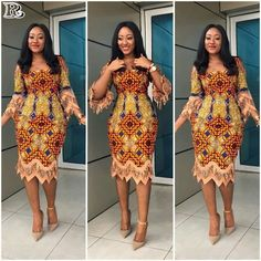 Last Eye-Popping Ankara Gown Styles. This season Eye-Popping Ankara Gown Styles started with a bang, African Fashion Designers, Latest African Fashion Dresses, African Dresses For Women, African Print Dresses, African Print Fashion, Africa Fashion, African Attire, African Wear, African Women
