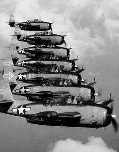 Squadron Of Grumman TBF/TBM Avengers