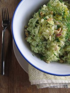 Lemon and Fennel risotto - CERES Fair Food Note: Delicious, but 2 lemons are too much - the citrus overpowers the flavour of the fennel.