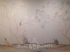 Segreto Secrets Blog   Hand Painted Mural