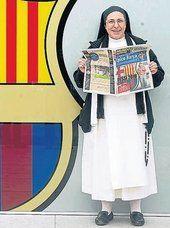 """Sor Lucía Caram: """"No ser del Barça es un pecado"""""""