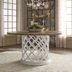 Amazing Moroccan Dining Table Of Vince Reclaimed Wood 60 Inch Trellis Drum By Drum Coffee Table, Round Wood Coffee Table, Drum Table, Round Dining Table, Bar Furniture, Rustic Furniture, Furniture Outlet, Online Furniture, Shabby Chic Round Table