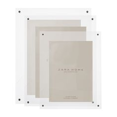 Basic Rectangular Frame - Frames - Decor and pillows | Zara Home Canada