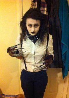 Edward Scissorhands - Halloween Costume Contest via @costumeworks