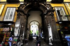 Naples, Palazzo Carafa della Spina is located in the historic center of the city. It was built at the beginning of the seventeenth century