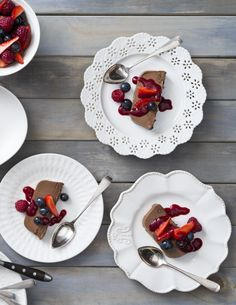 Parfait au chocolat with summer berries | Thermomix 15th Anniversary 2016 Calendar