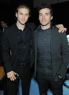 Keegan Allen and Ian Harding
