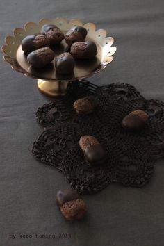 Backen mit den Minis... in der Weihnachtsbäckerei Teil 1... Schokoladestangerl...
