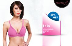 Shop Everyday Bra having 65% cotton 35% polyester, better in comfort best in Price. Shop online on http://www.prestitia.co.in/products/bras.html