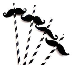 Items similar to 50 Fun Mustache Moustache Party Straws, Fiesta Party, Photo Prop, Birthday Party, Baby Shower on Etsy