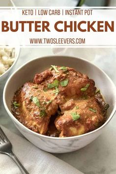 My most popular recipe. Super easy yet authentic Instant Pot Butter Chicken. An easy Instant Pot Keto Recipe that's family-friendly and ready in 30 minutes! Butter Chicken Rezept, Indian Butter Chicken, Keto Chicken, Instant Pot Pressure Cooker, Pressure Cooker Recipes, Slow Cooker, Masala Recipe, Indian Food Recipes, Kitchens
