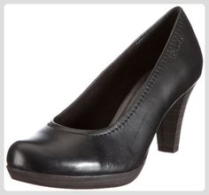 Tamaris Black 1-1-22410-27, Damen Pumps, Schwarz (BLACK 001), EU 38 - Damen pumps (*Partner-Link)