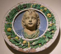 Girolamo della robbia, effige ideale di fanciullo, 1510-15