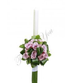 Lumanari nunta trandafiri mov Saintpaulia, Candles, Candy, African Violet, Candle Sticks, Candle