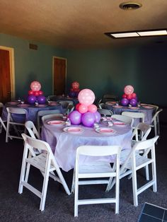 ballons centerpiece