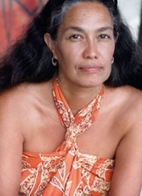 """Native Hawaiian Scholar and activist that has been the voice of many indigenous people. She is the essence of what a Polynesian woman represents. She is """"Bold"""" and """"Passionate"""" all for the sake of her culture, heritage, and her beloved Hawaiian people."""