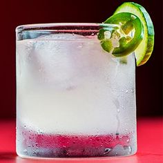 How to Make a Cachaça Cocktail  | Combine 2 oz cachaça, 1 oz freshly squeezed lime juice, 1 oz simple syrup, 2 cucumber slices, 2 jalapeño slices, & 1 pinch sea salt in a cocktail shaker, & shake vigorously. Strain into an ice-filled rocks glass, and furnish with a cucumber and jalapeño slice. Serve