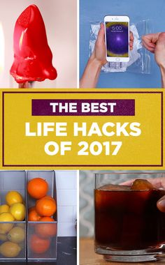 The Best Life Hacks Of 2017