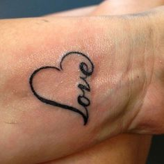 Love This But For The Neck Or Behind The Ear | See more about heart tattoos, kid names and white ink. #tattoo #tattoos #ink