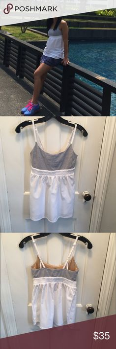 Lululemon tanks Gentle used. Great condition. Super cute on you can wear with anything❤ lululemon athletica Tops Tank Tops