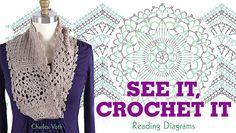 Learn How to Read Crochet Diagrams ins: See It, Crochet It