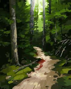 Just Another Forest by tohdraws.deviantart.com on @DeviantArt