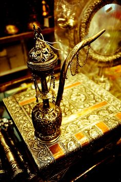 Beautiful Vintage Hookah!  Come to Lux Lounge in West Bloomfield, MI to relax with friends at a premiere hookah lounge in an upscale atmosphere!  Call (248) 661-1300 for more information!