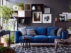 Comfortable NORSBORG sofa —