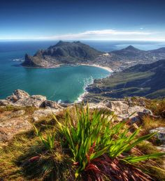 I've always loved the almost half-moon bay of Hout Bay, in Cape Town, South Africa.